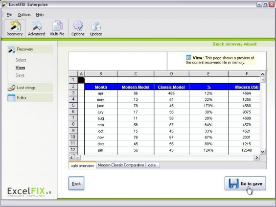excel data recovery