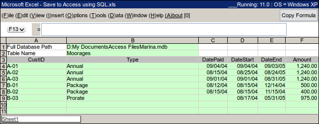 Excel Spreadsheet  Free Online Tutorials